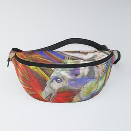 Energy Crossing Fanny Pack