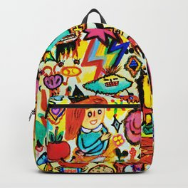 Monster Hello party Backpack