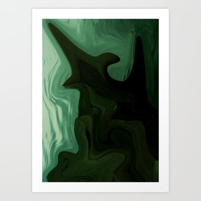 """""""Dead End Points"""" Art Print"""