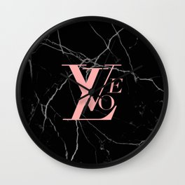 love designer Wall Clock