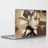 rocket Laptop & iPad Skins featuring Rocket by Kaitlyn Brown