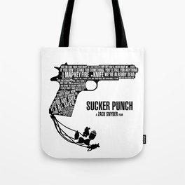 Sucker Punch Tote Bag
