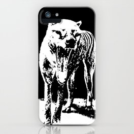 Tasmania Tiger iPhone Case