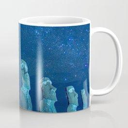 Easter Island by night Coffee Mug