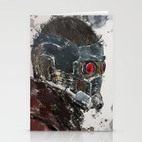 star lord Stationery Cards featuring Star Lord by Scofield Designs