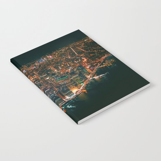 City of Lights New York City (Color) by nocolordesigns