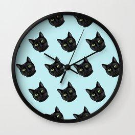 Black Cat Appreciation Day Wall Clock