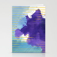 rorschach Stationery Cards featuring Rorschach by Sonia Garcia