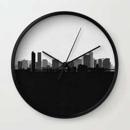 City Skylines: Denver (Alternative) Wall Clock