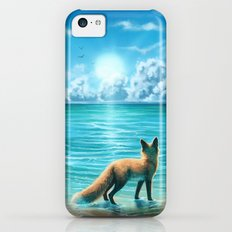Caribbean Blue iPhone 5c Slim Case