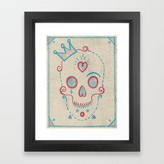Skull Kids Framed Art Print