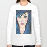 indigo Long Sleeve T-shirts featuring Indigo by Sartoris ART