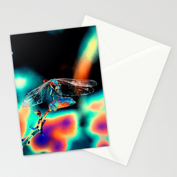 Abstract wild life Stationery Cards