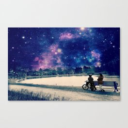 The boy and Girl Canvas Print