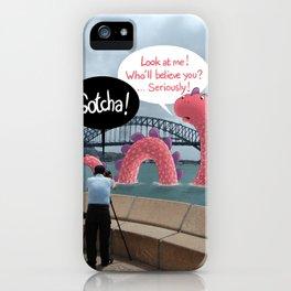 The secret of Nessie iPhone Case
