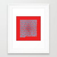 the 100 Framed Art Prints featuring 100 by Paco Dozier