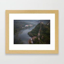 The Great Wall of China Framed Art Print