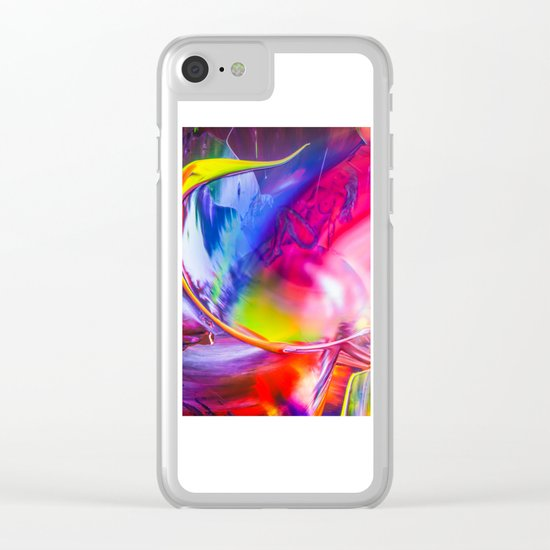 Relaxed into the weekend Clear iPhone Case