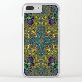 Fractal Coat Of Arms Clear iPhone Case