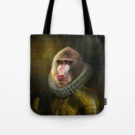 Portrait of Marquis de Mandrille Tote Bag