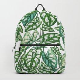 Green Tropical Leaves IV Backpack