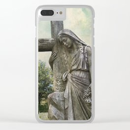 St. Stanislaus Magdalene Clear iPhone Case