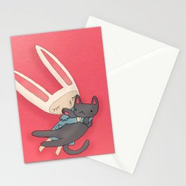 Toki and jellybean Stationery Cards
