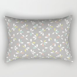 loves me loves me not pattern - pastel Rectangular Pillow