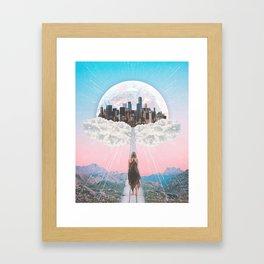 CITY OF PASTEL DREAMS III Framed Art Print