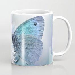 Butterfly blue 71 Coffee Mug