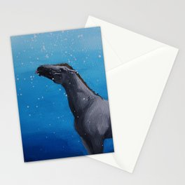 I Lick The Snow Stationery Cards