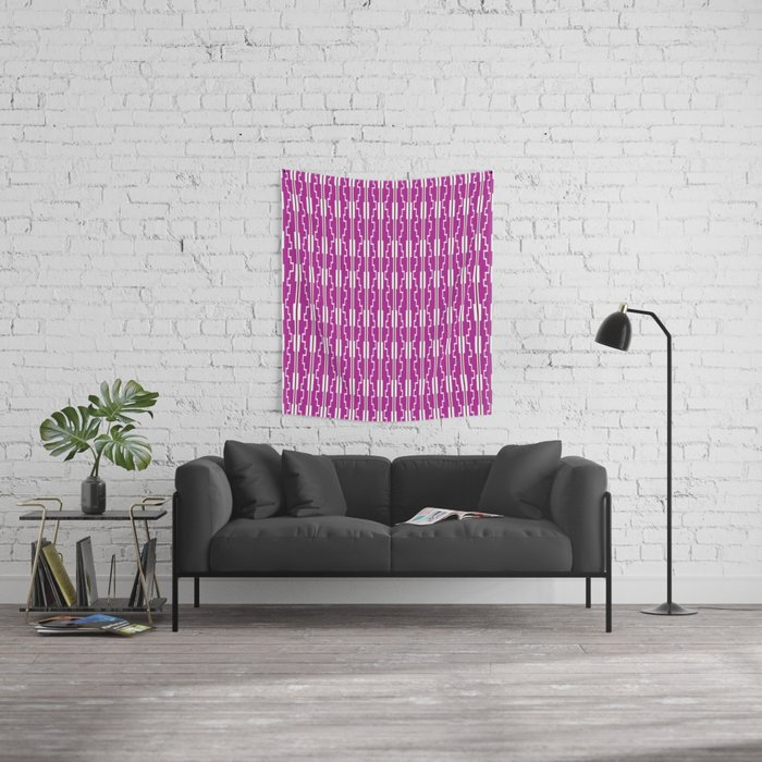 Digital Flow Wall Tapestry