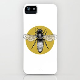 Manchester Bee iPhone Case