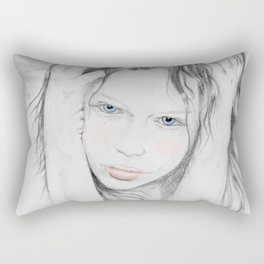 End of May Rectangular Pillow