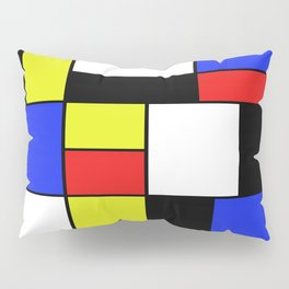 Mondrian #20 Pillow Sham