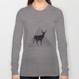 Reindeer in a winterwonderland Long Sleeve T-shirt