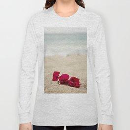Beach Flowers Long Sleeve T-shirt