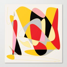 Detachment Canvas Print