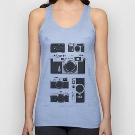 Cameras : 1950 / Japan Collection Unisex Tank Top