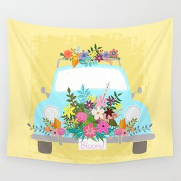 Bloom Where You Are Planted Wall Tapestry