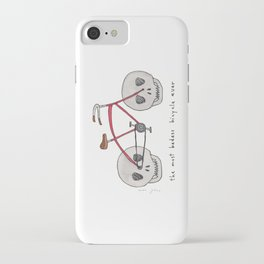 the most badass bicycle ever iPhone Case