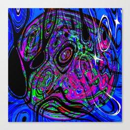 Psychedelic Universe Canvas Print