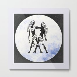 Gemini - Zodiac sign Metal Print