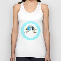 mother Tank Tops featuring Mother  by Christopher Chouinard