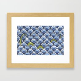 Shy Ness Framed Art Print