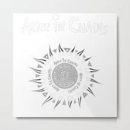 alice in chains Metal Print