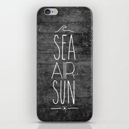 Sea, Air & Sun iPhone Skin