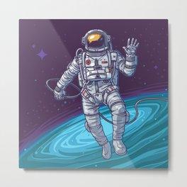 Hello Universe Metal Print