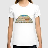 library T-shirts featuring Dream Library by Jet McLeod