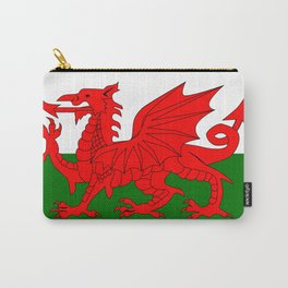 Welsh Dragon Flag Carry-All Pouch